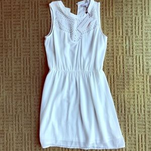 Brand new, never worn, white eyelet dress